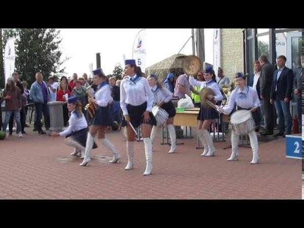 Яхт клуб Балтиец Шоу барабанщиц Феерия Yacht club Baltiets show of drummers Feeriya