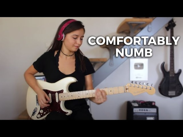 Pink Floyd - Comfortably numb last solo (Cover by Chloé)