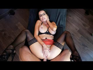 Veronica Avluv - Psychologist - Anal Sex MILF Big Tits Ass Squirt Hardcore Gonzo Lingerie Stockings Mature Glasses, Porn