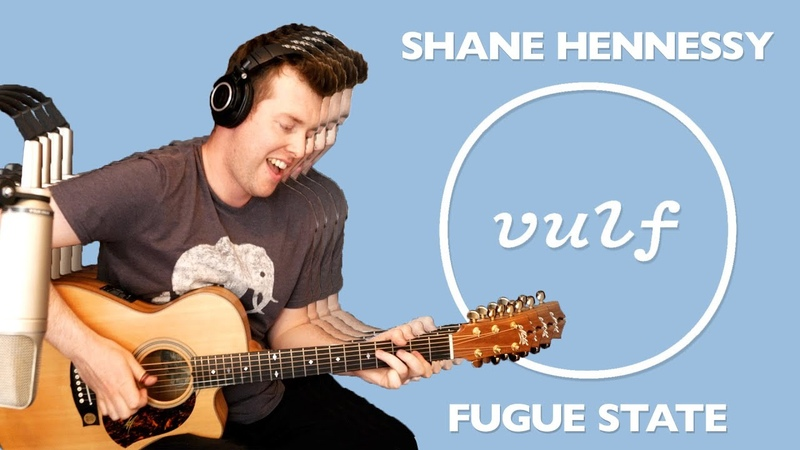 Fugue State (Vulfpeck) | Solo Fingerstyle Guitar | Shane Hennessy