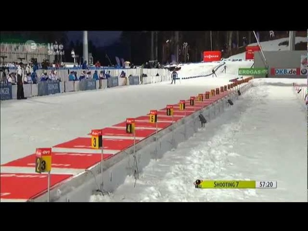 10 03 2013 Biathlon Sotschi Staffel Relay Women Winner Deutschland full