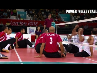 Sitting Volleyball. Amazing Volleyball Actions (HD)