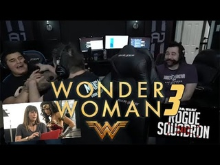 Angry Joe Reacts to the Wonder Woman 3 Announcement!