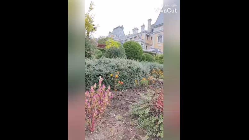 Бекстейдж съёмки с Массандровского дворца