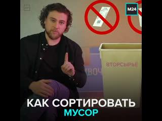 Как разделять отходы в России — Москва 24