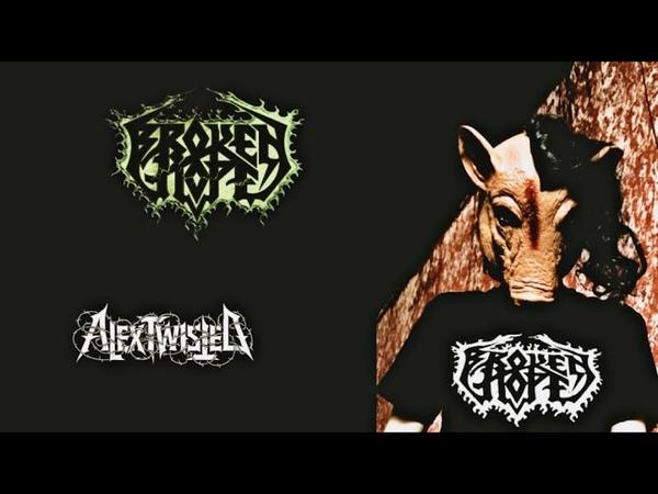 Alex Twisted Erotic Zoophilism Broken Hope metal pole dance