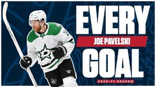 Every Joe Pavelski Goal From The 2020-21 NHL Season