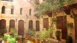 Ambience/ASMR: Ottoman Courtyard Garden & Fountain, 18th Century Syria, 5 Hours