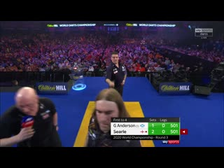 Gary Anderson vs Ryan Searle (PDC World Darts Championship 2020 / Round 3)