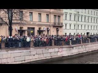 «Путин убийца» СКАНДИРУЮТ ПРОТЕСТУЮЩИЕ В САНКТ-ПЕТЕРБУРГЕ / МИТИНГ 21 АПРЕЛЯ