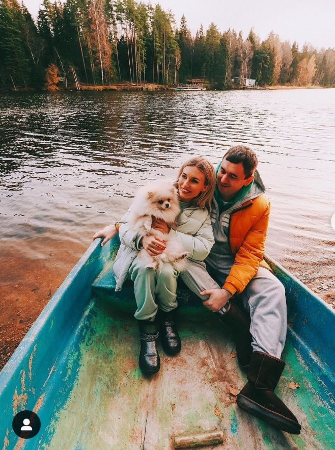 Осенняя фотосессия семьи Шабариных