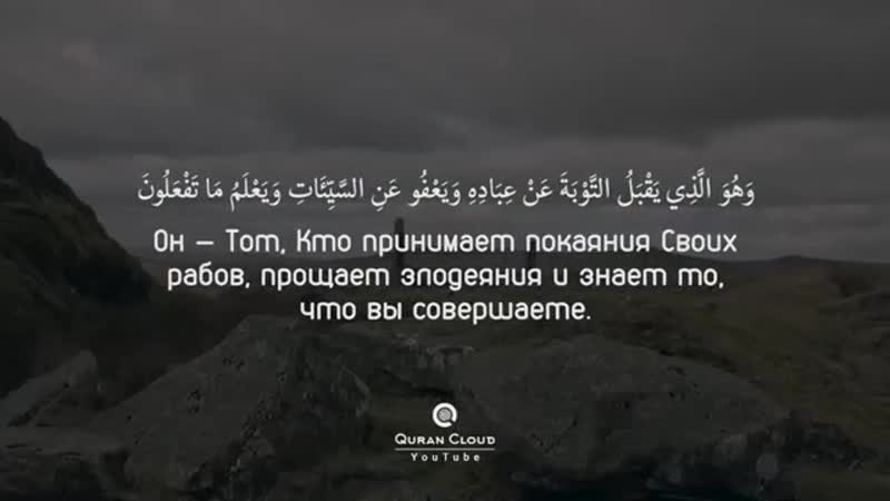 Сура 42 Совет Аяты 20 31 Чтец Анас аль Имади