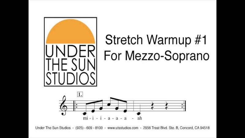 Vocal Stretch Warmup 1 For Mezzo Soprano