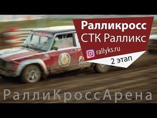 Коротко о гонке 2-го летнего этапа ралликросса #Ралликс - 17 июля 2021 - Ралликроссарена