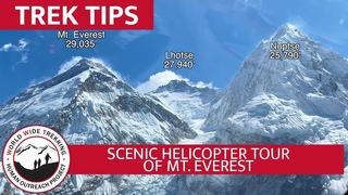 Helicopter Tour of Mt. Everest - Stunning Views of Himalayas in Nepal | Trek Tips