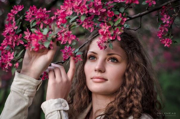 Весна и женщина
