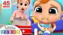 Boo Boo Song | more Little Angel Kids Songs Nursery Rhymes