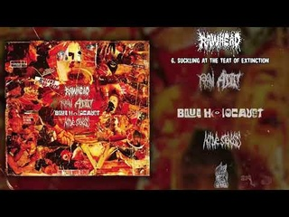 Rawhead / Raw Addict / Blue Holocaust / Active Stenosis- 4-way split CD FULL ALBUM (2020-Goregrind)