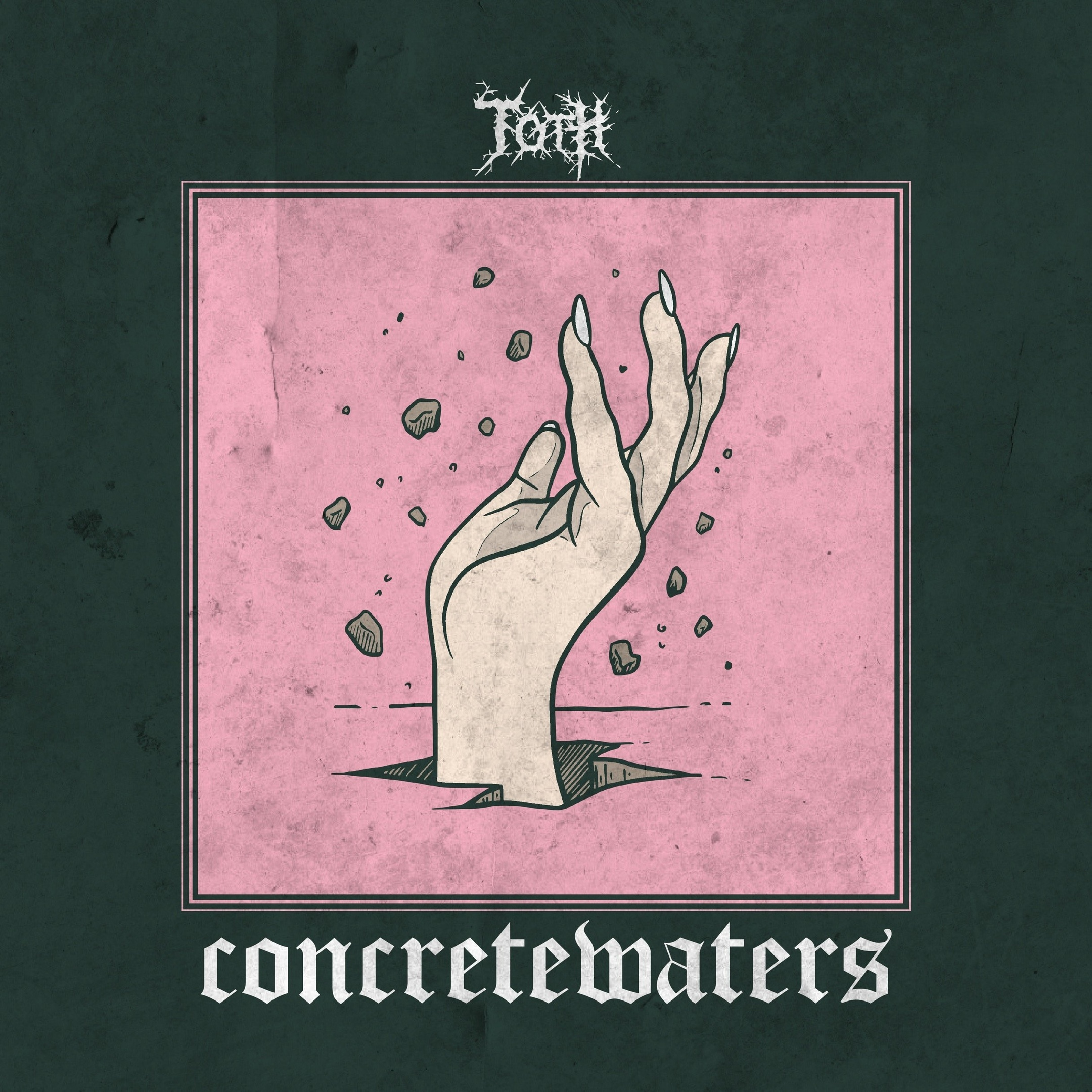 Tear Out the Heart - Concrete Waters [single] (2019)