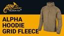 Helikon Tex Alpha Hoodie Grid Fleece
