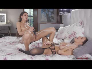 Busty, Face Riding, Kissing, Lesbian, Lingerie, MILF, Petite, Pussy Licking, Pussy Rubbing, Scissoring, Squirting, 1080p