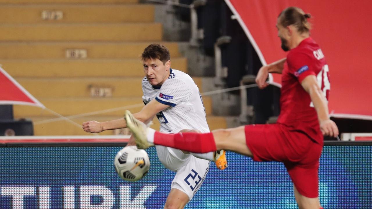 Турция - Россия, 3:2. Лига Наций. Далер Кузяев