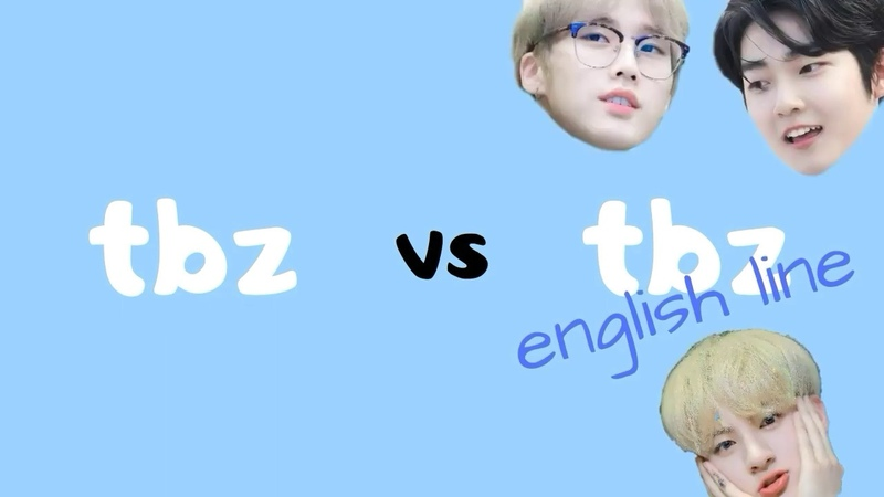 The boyz vs the boyz english line