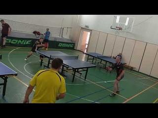 встреча за 3 место Силин М.(476)-Филимонов А.(499)   турнир по настольному теннису