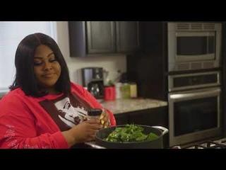 Soul Food Greens made with RosaMae Seasonings Greens  Seasoning - Rosie Mayes - I Heart Recipes