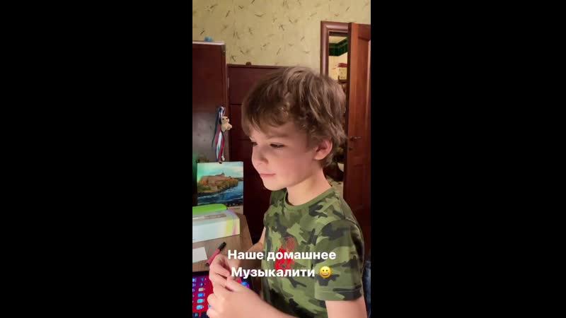 Максим и Гарри Галкины Домашнее Музыкалити instagram @maxgalkinru 2020
