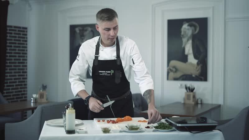 Шеф повар ресторана Линкер Парк в программе 12 канала Готовь как шеф