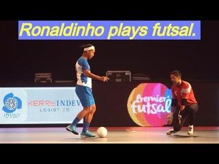 РОНАЛДИНЬО И ФАЛЬКАО ИГРАЮТ В ФУТЗАЛ - ФИНТЫ | Ronaldinho, Falcao in futsal. Мини-футбол