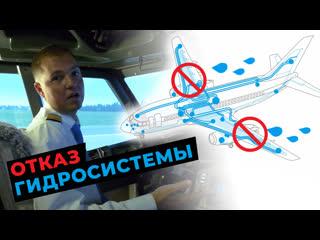 ОТКАЗ ГИДРОСИСТЕМЫ самолета   ТЕОРИЯ и действия пилота Boeing 737