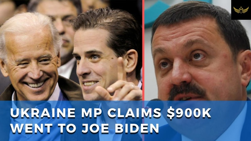 Ukraine MP claims to have documents linking Joe Biden to $900K payoff