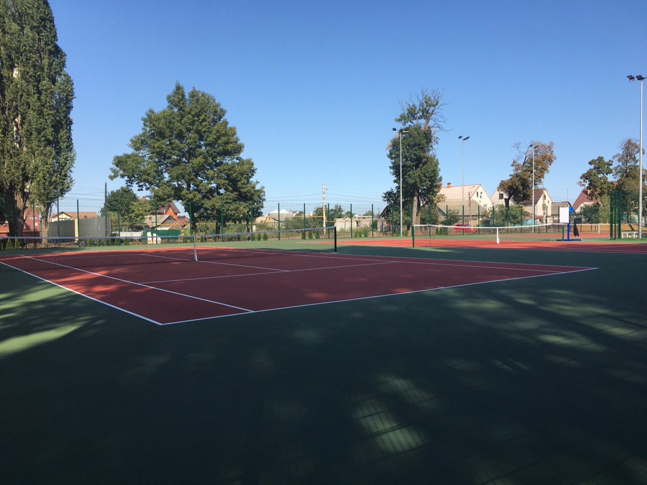 Липчане могут играть в теннис прямо в парке  — Изображение 1
