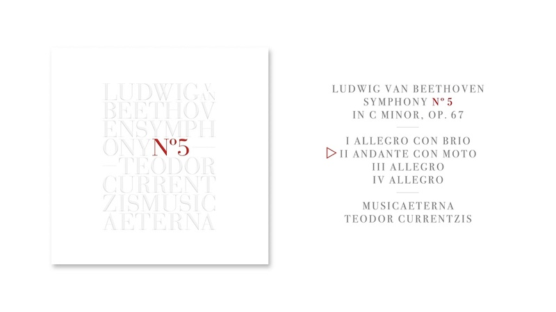 Teodor Currentzis Beethoven Symphony No 5 Album Preview
