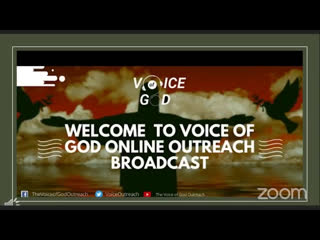 JOIN US ONLINE FOR | THE VOICE OF GOD OUTREACH | SATURDAY SEPT, 19TH 2020 | FROM 12MIDNIGHT-12:45AM