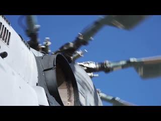 Занятия вертолетчиков ЦВО в День армейской авиации