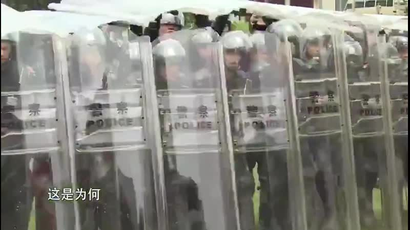 Chine Vidéo qui montre une démonstration de la sécurité publique et de la formation militaire qui se tient aujourdhui à Shenzhen