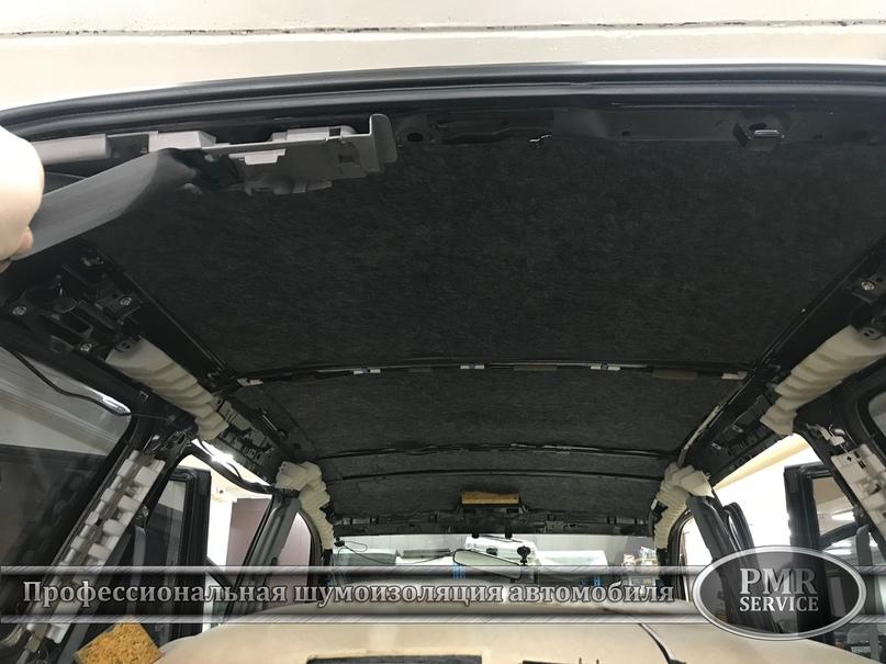 Комплексная шумоизоляция Toyota Land Cruiser 120, изображение №20
