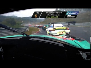 2020 Porsche 911 GT3R onboard - Opening lap ADAC TOTAL 24H - RENNEN NURBURGRING
