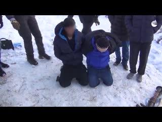 Задержание террористов в Дагестане