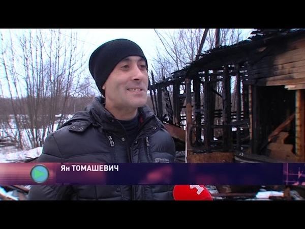 На окраине Ярославля сгорел дом на три семьи люди остались без крыши над головой