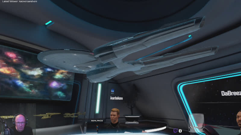 ENG SWE Star Trekkin across the VR verse startrekbridgecrew and later some Star Citizen a3 5 1 starcitizen