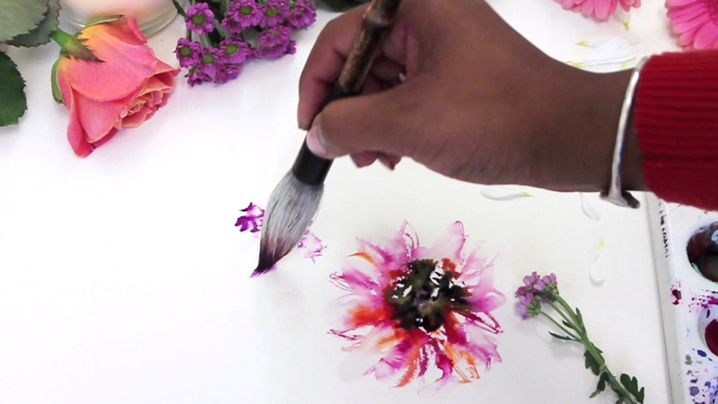 HOW TO FIND YOUR STYLE Watercolor painting talk through