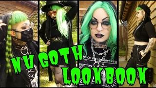Nu Goth Alternative Everyday Lookbook // Emily Boo