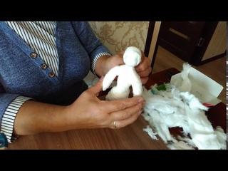 """Мастер-класс по изготовлению ватной куклы на каркасе. Библиотека """"Саморазвитие"""""""