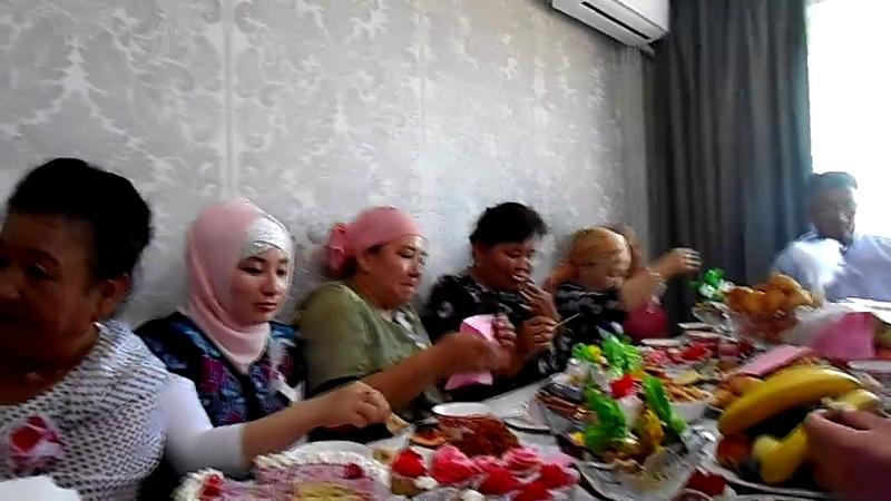 Құйрық бауыр жегізу Ата салт Печень и курдюк национальный обряд для сватов