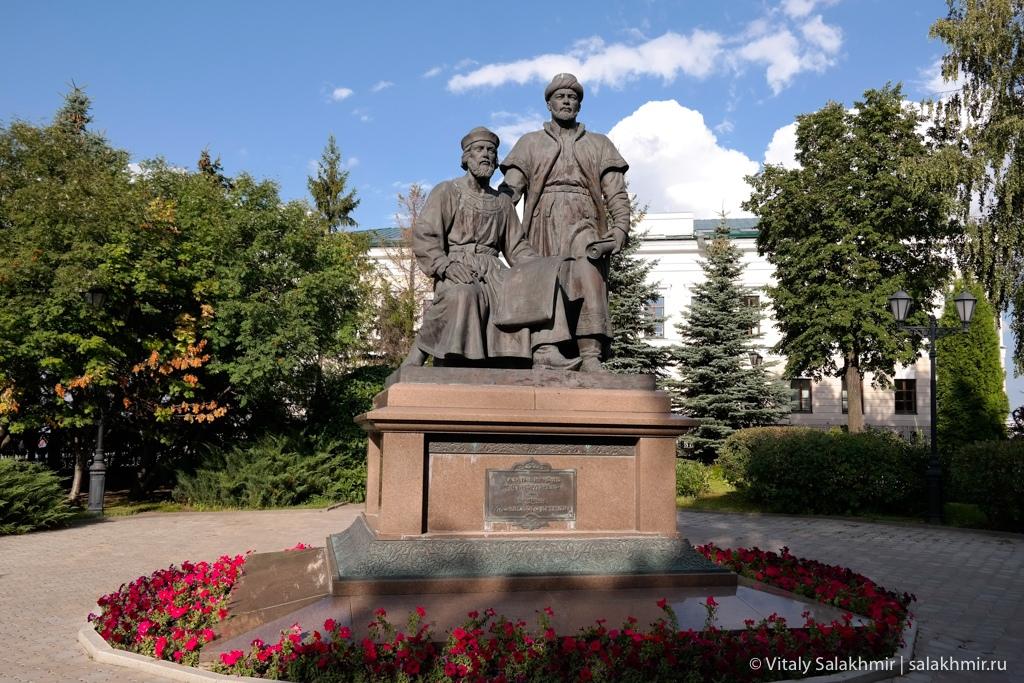 Памятник зодчим в Казанском Кремле, Казань 2020