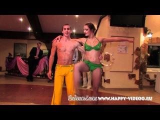 Шоу балет Арива красивый парный танец